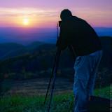 Sunset at Shenandoah N.P.