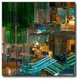 Wyndham hotel lobby at Emerald Plaza, San Diego, CA