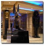 Luxor hotel entrance, Las Vegas, NV