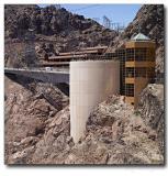 Visitor Center, Hoower Dam, Nevada - Arizona border