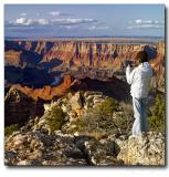 Taking pictures of Grand Canyon II