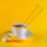 Coffee for Two /Yellow/