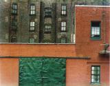 Red Brick Wall, New York, 1948