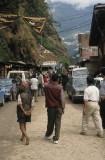 Border crossing Nepal - Tibet