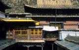 Lhasa, detail of the Potala palace