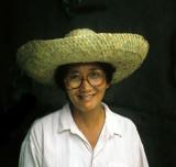 Straw hats vendor