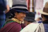 People in the market  in Otavalo