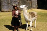 Fotomodels at Sascayhuanan