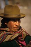 Souvenir vendor at Cuzco