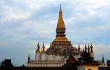 Vientiane. That Luang, the natuinal sanctuary