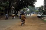 Vientiane. Traffic