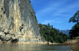 Steep Rocks by the Ou River