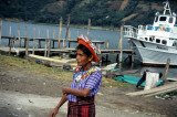 Lady in traditonal costume of Santiago de Atitlan