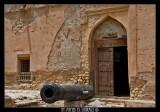 Qurayat fortress main door