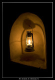 Lamp inside Nizwa Fort