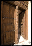 Nizwa Fort Wooden Gate