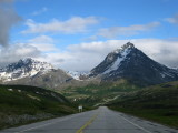 July 22, 2010 - Driving from Tok to Haines