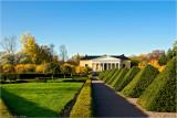 The orangerie and the Renaissance Garden at Botanical Garden