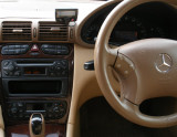 Parrot CK3100 in Mercedes C270 03 plate.JPG