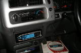 Parrot Rthym and Blue in Mitsubishi L200 04 plate.JPG