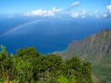 Rainbow Over Kalalau Valley