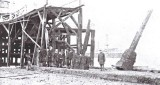 Flood damage to Sheerness Blue Town pier 1897