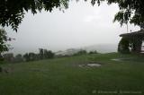 Heavy rain at Mweya