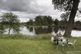 Having lunch at a Swedish lake