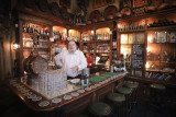 Retired bartender Jaecques André still 'fills in' at the old Amsterdam bar where he worked for years