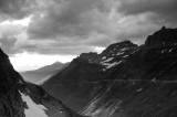 Mountain Scene BW Glacier National Park Montana _DSC0485.JPG