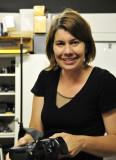 Julie Hillebrandt, an ISU professional photographer, right after taking a photo of me _DSC3160.jpg
