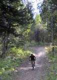 cyclist on east mink trail pocatello scout mountain _DSC3755.jpg