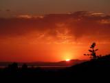 American Falls Reservoir Sunset from Pocatello P1000067.jpg
