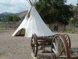 Wagon and Teepee by Fort Hall Replica P1020203.jpg