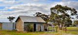 Old barn on farm ~