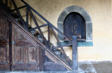 Staircase and hatch