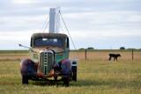 Old dodge on farm ~