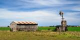 Barn and windmill - Port Fairy