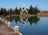 Windmill by the pond 2