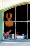 Violin in the window ~