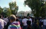 Reaching White House