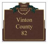 Vinton County Historical Markers