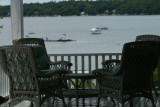 deck chairs, Chebeague Island Inn