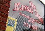 Kansas Chief Window Sign 1230-3