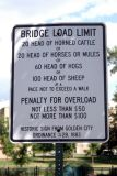 Bridge Load Limit