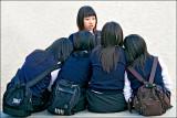 Korean Schoolgirls.