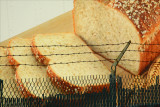 Bread held captive.