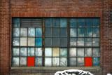 Factory windows.