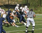 tackled!