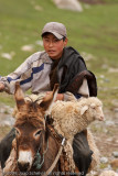 Kyrgiz shepherd boy